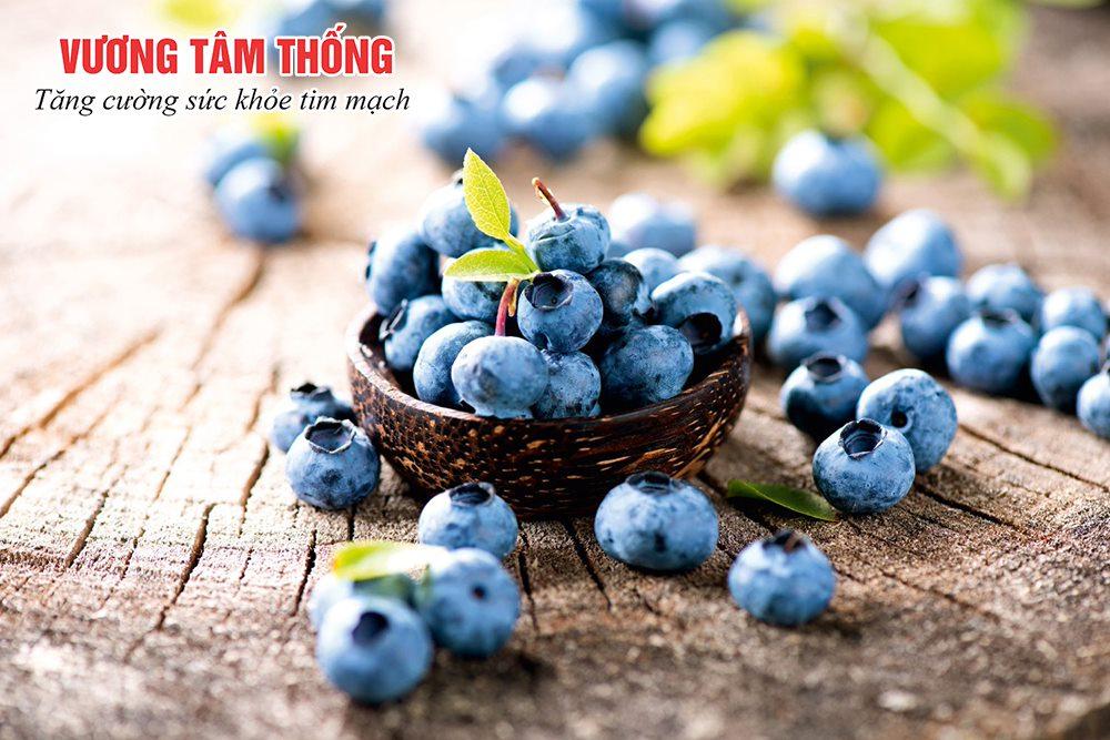 Người bệnh tăng huyết áp nên ăn trái việt quất